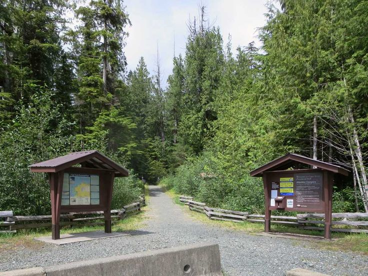Cape Scott Provincial Park at the northwest end of Vancouver Island, British Columbia, Canada, offers a variety of hiking and camping options.