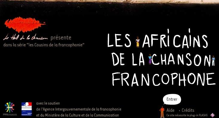 Les Africains de la Chanson Francophone - un site du Hall de la Chanson