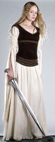 Eowyn - There weren't many women in Lord of the Rings, but the ones Tolkein did include are among my favourite in literature, and Eowyn in particular.