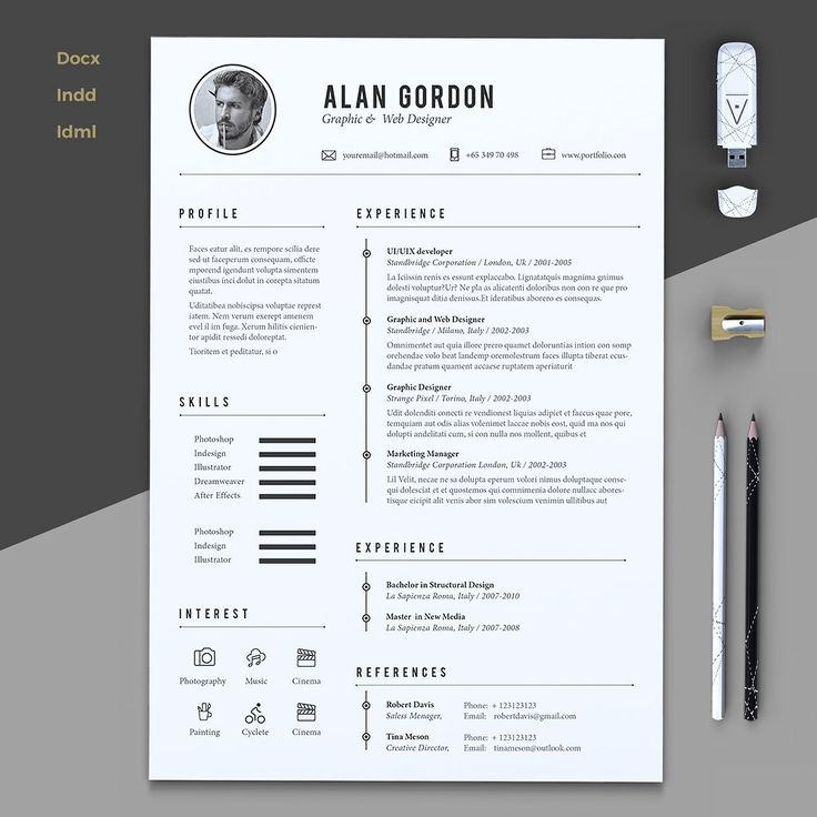 54 best Resúmes images on Pinterest - what font should my resume be in