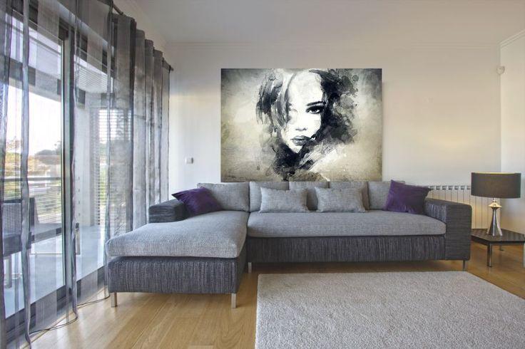 obraz drukowany - ozdoba salonu