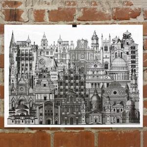 silver city print