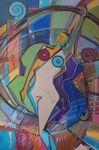 Reni Varoli Potere di Donna Painting Oil