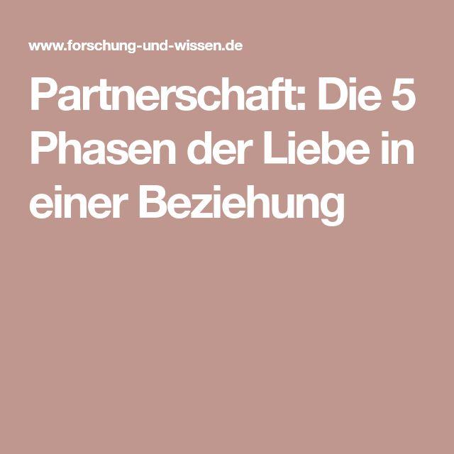 Partnerschaft: Die 5 Phasen der Liebe in einer Beziehung