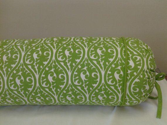 Long Decorative Roll Pillows : Extra Long bolster neck roll pillow for queen Bolster Pillow Pinterest Neck roll pillow ...
