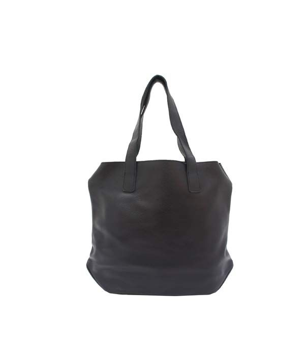 Lars Open Tote Black | Lumi Accessories  www.shoplumi.com