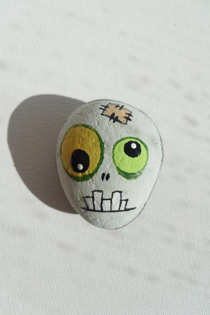 Zombie - Painted Zombie's Head
