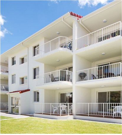 Located on the Esplanade of the Gold Coast's North Burleigh, Burleigh Point Apartments offer self contained accommodation in a family setting with spacious 2 bedroom fully self-contained apartments, all uniquely furnished with garden or ocean views.