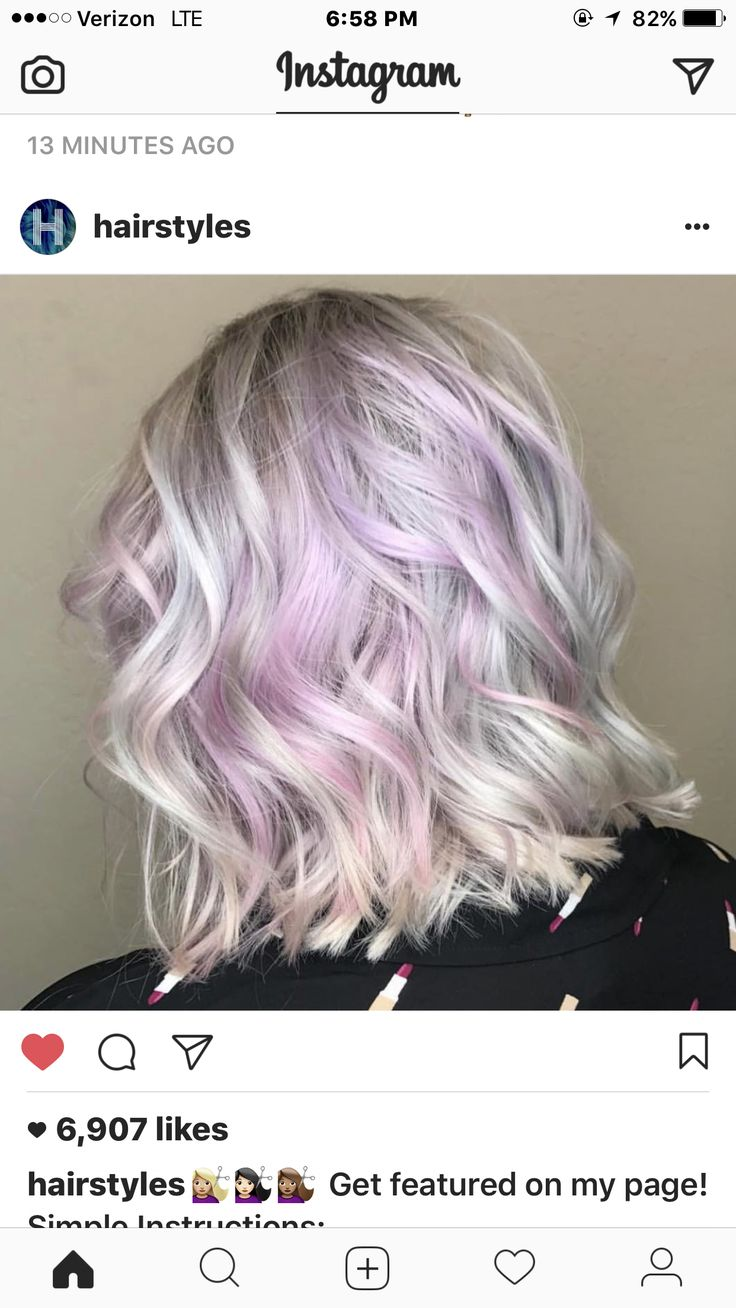 Color! Wish I could do this but can't with brown hair.