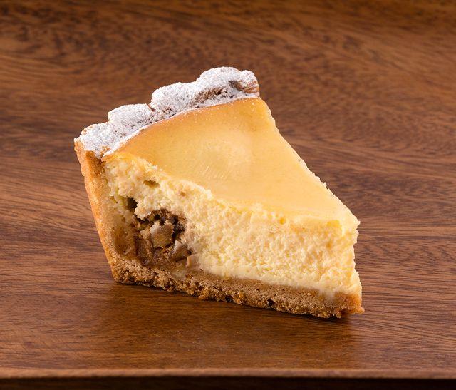 くるみ入りリコッタチーズケーキ