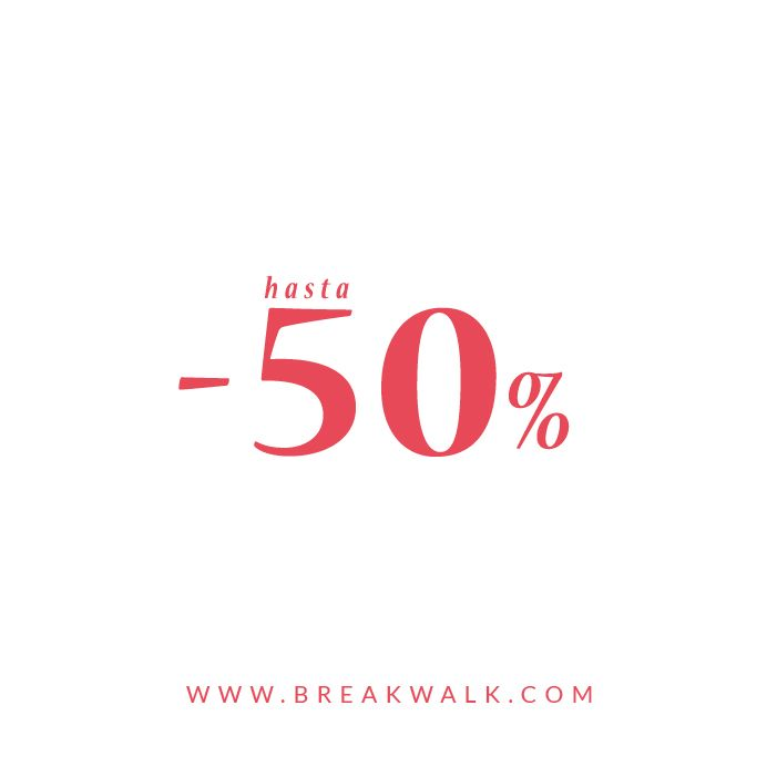 2as REBAJAS  Descuentos hasta el 50% ➡️ Break&Walk