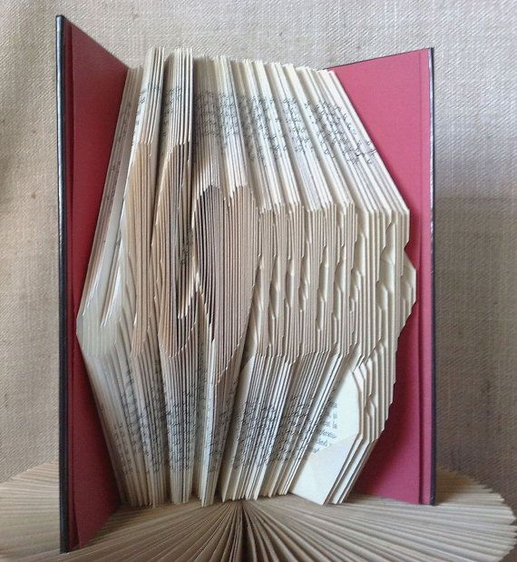 Book folding pattern and FREE Tutorial  Mommy by PatternsStore