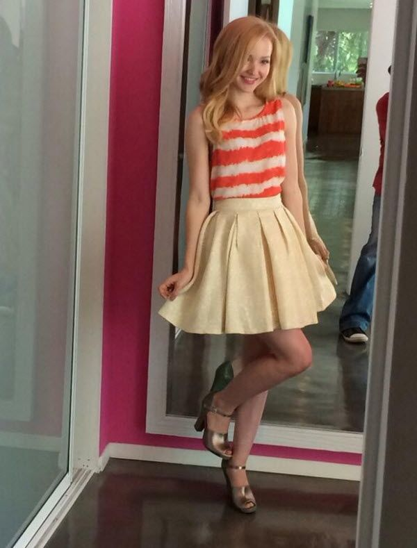 Photo: Dove Cameron So Pretty For Photo Shoot With M Magazine April 12, 2014: