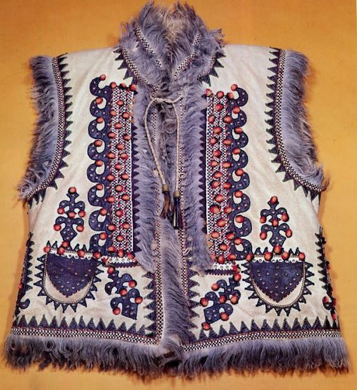 Vest of the Hutsul region, Carpathian mountains - Ukraine & Romania.
