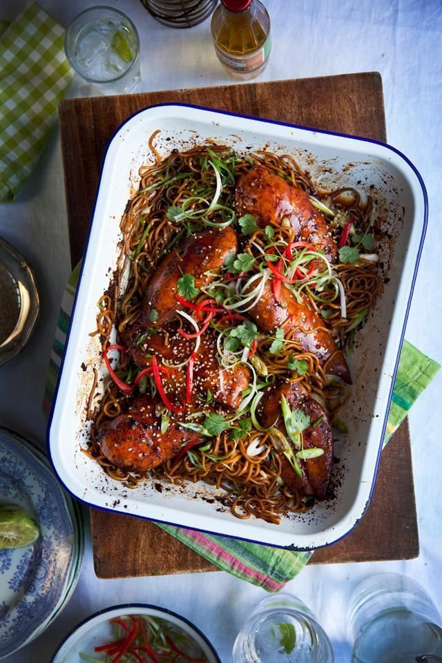 Here, blogger and cookbook author Donal Skehan shares a brilliant trick to faking takeout Chinese at home.  Photo: Donal Skehan By Donal Skehan I love fuss-free one-tray dinners that can be served straight to the table where people can help themselves.  This teriyaki chicken tray bake can be prepared