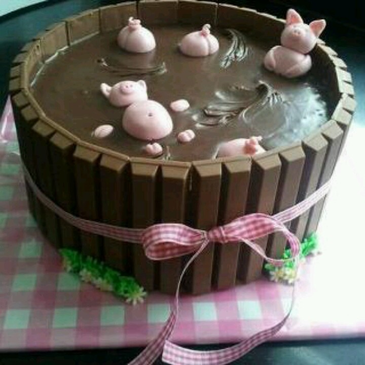 LOLOL maybe on the last day?? Pig Cake