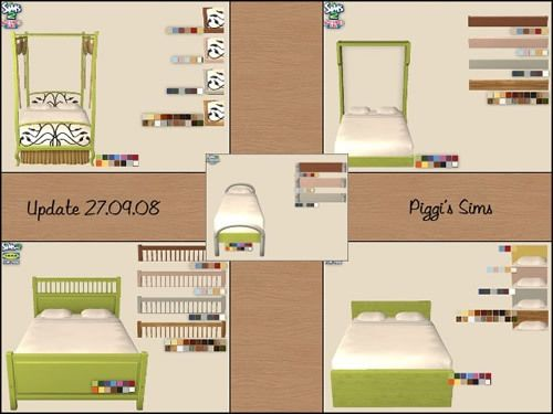 Get some awesome recolors for your favorite beds! The recolors include IKEA Beds, Apartment Life beds and one bed from Teen Style Stuff. IKEA Hemnes Double Bed IKEA Malm Double Bed Teen Style Stuff Surfer Bed Apartment Life Bohemian Double Bed Apartment Life Murphy Double Bed