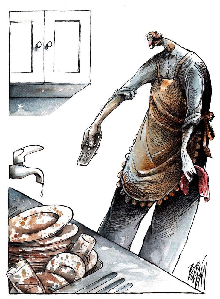 Boligán, dibujante versátil