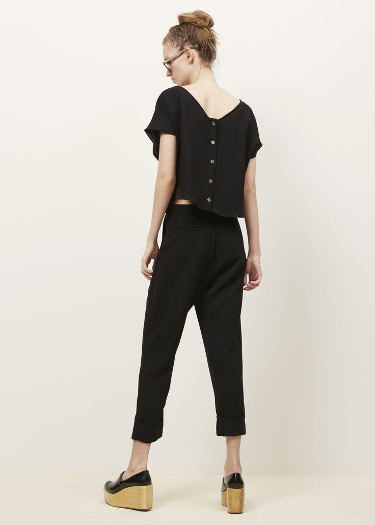 Rachel Comey Black Paloma Jumpsuit