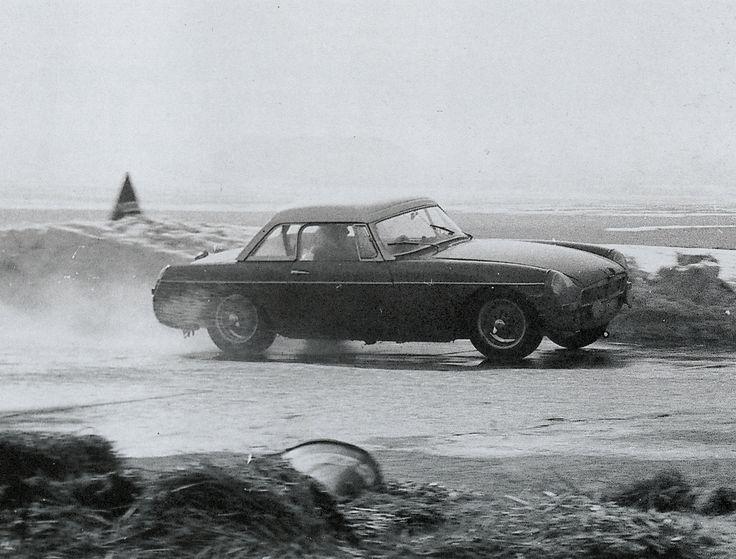 6DBL testing prior to 1963 Sebring 12 Hours