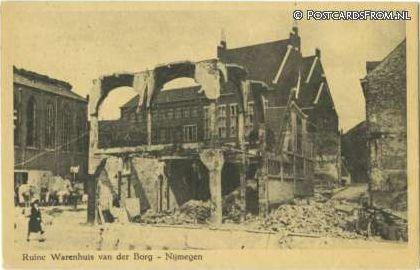 Nijmegen - Ruine Warenhuis van der Borg