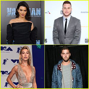 Kendall Jenner & Blake Griffin Double Date With Hailey Baldwin & Chandler Parsons (Video)