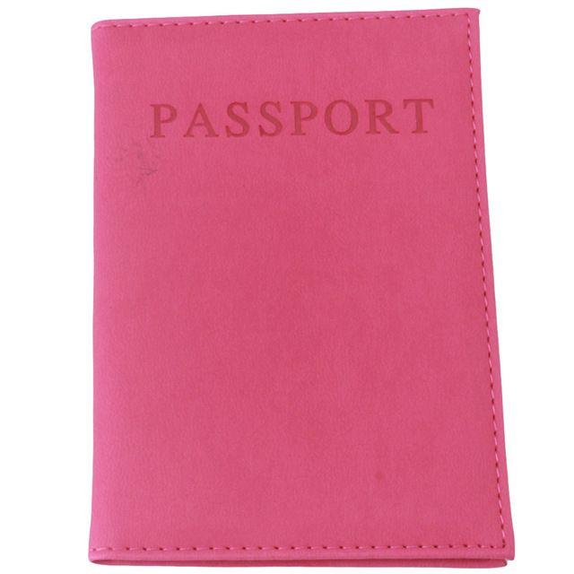 Fashion Faux Couro de Viagem portador de Passaporte Tampa Saco Passaporte Cartão de IDENTIFICAÇÃO Carteira Saco De Armazenamento Luva Protetora RD838528