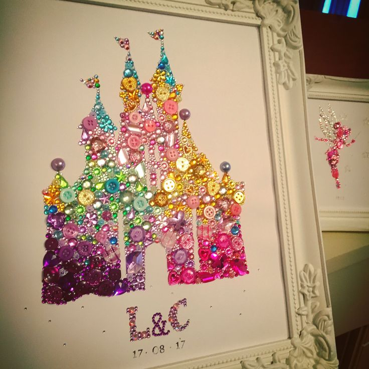 A personal favourite from my Etsy shop https://www.etsy.com/uk/listing/511120267/disney-castle-princess-frame-wall-art
