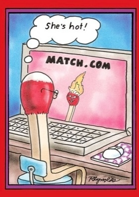 Online dating joke in Perth