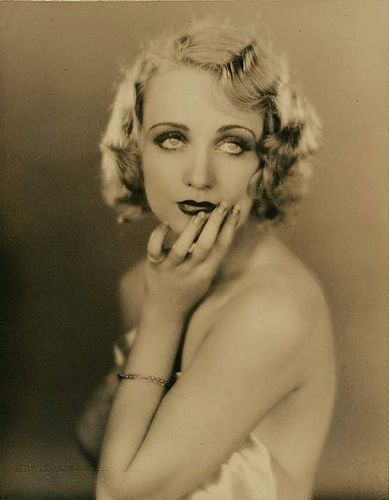 Carole Lombard (Photo by Edwin Bower Hesser), via Flickr.