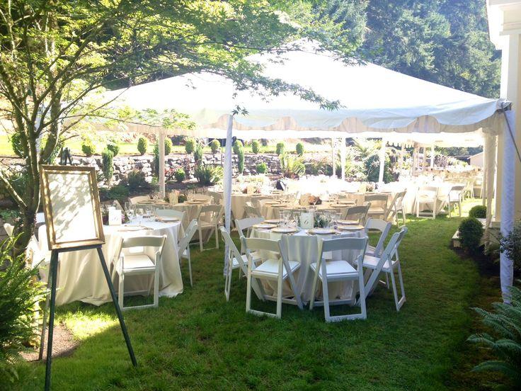 Neutral Elegant Outdoor Wedding: 25+ Best Ideas About Elegant Backyard Wedding On Pinterest