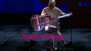 """Kaki King: TED Talks    A Musical Escape Into a World of Light and Color 