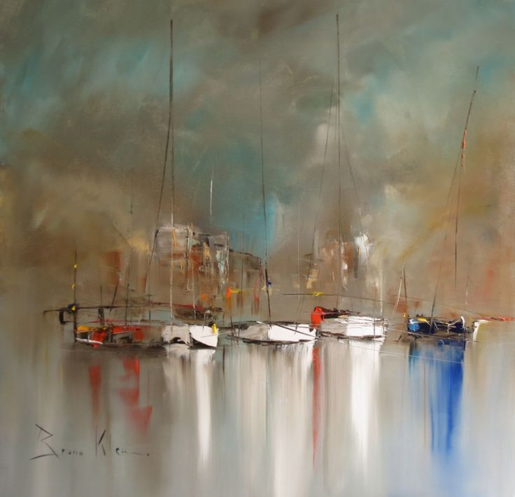 Reflets blancs 80x80 art peintures photos pinterest for Bruno klein peintre
