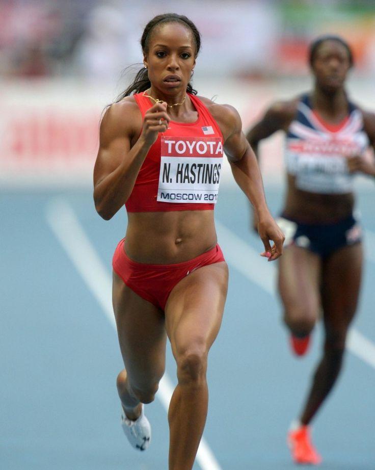 Natasha Hastings 10best bodies in sports