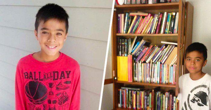 Mathew Flores es un niño de 12 años que leía correo 'basura'. No podía ir a la biblioteca y le pidió ayuda a su cartero. Su post de Facebook se volvió viral
