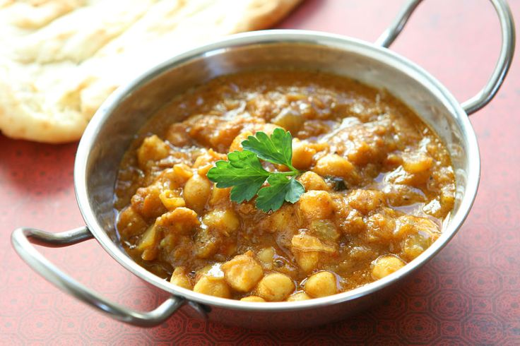 Indian Stewed Chickpea Chana Masala