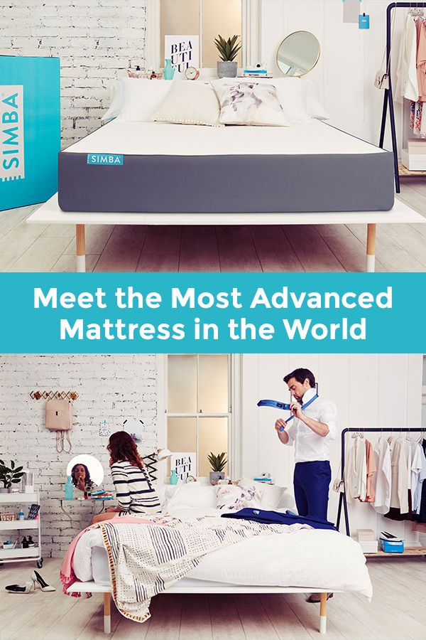 Simba Hybrid is the world's best mattress, and we have the power of science to back it up. Our mattress was developed with The Sleep To Live Institute, who has profiled over 10 million people. We combined that data with Visco memory foam and 2,500 unique conical pocket springs to design a mattress that feel like it was tailored to your body.