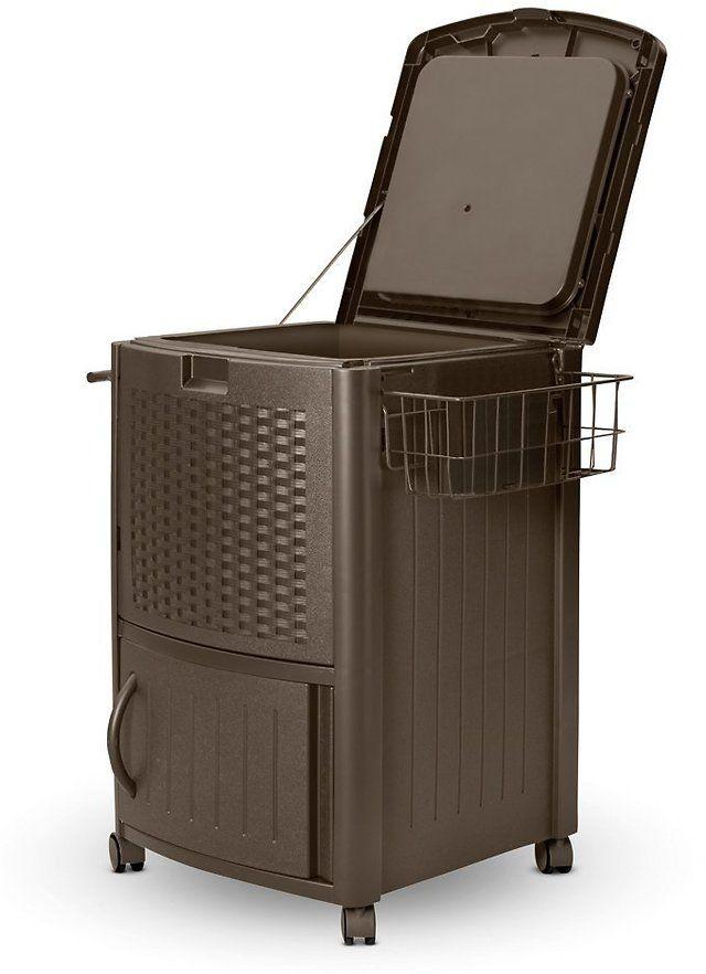 Suncast Resin Wicker Cooler $44.53 (amazon.com)