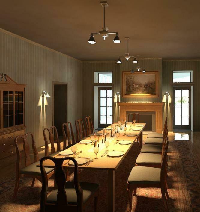 2008 Idea House In Galvestion Texas: Walter Gresham Home In Galveston, Texas Dining Rm Created