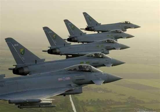 În perioada 1 mai – 31 august un detasament al Forțelor Aeriene Regale ale Marii Britanii va fi dislocat în România la Baza Militară de la Mihail Kogălniceanu