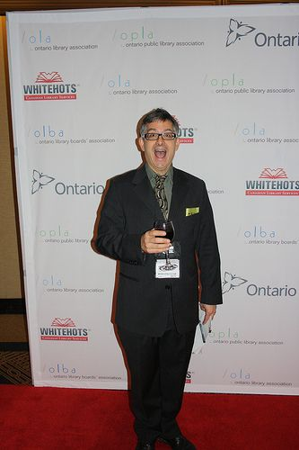 Our charming and funny Master of Ceremonies, Kevin Sylvester