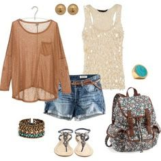 LOLO Moda: Stylish summer shorts fashion 2013, that would be a great first day of school outfit