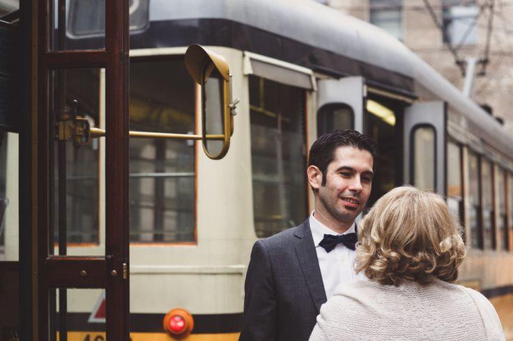 Tram wedding in Milan Matrimonio in tram a Milano | Duepunti Fine Art Wedding Photography | Fotografo Matrimonio Lago Maggiore