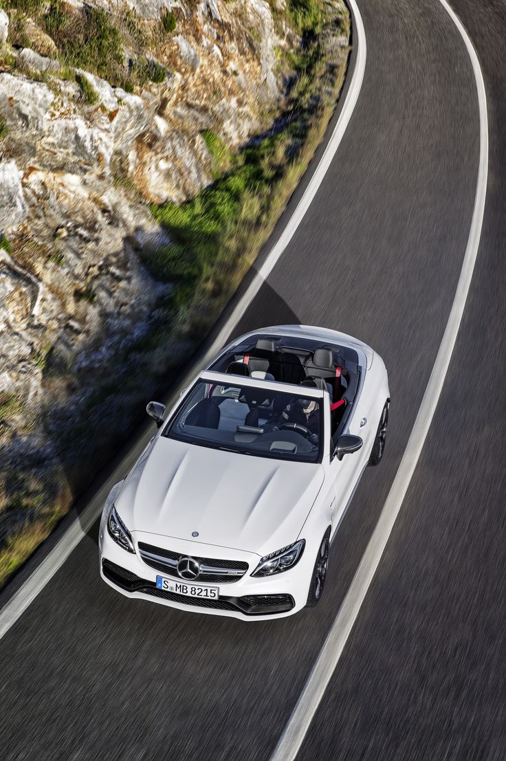 Maximum open-air performance for the C-Class with the new Mercedes-AMG C Cabriolet.