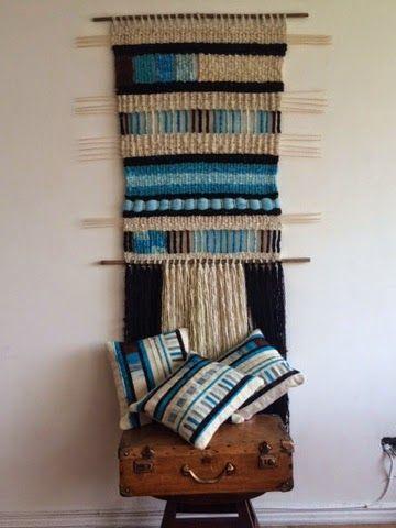 Telaresytapices .... Maria Elena Sotomayor : Conjuntos.... Armonía textil