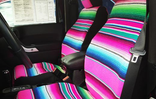 We specialize in custom car seat covers for every car make and model. Every set of our seat covers are made to order in downtown Los Angeles, CA.