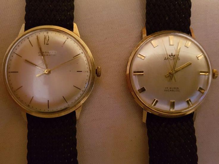 Arctos Armbanduhr 17 Rubis Handaufzug & Junghans Automatic Armbanduhr Handaufzug