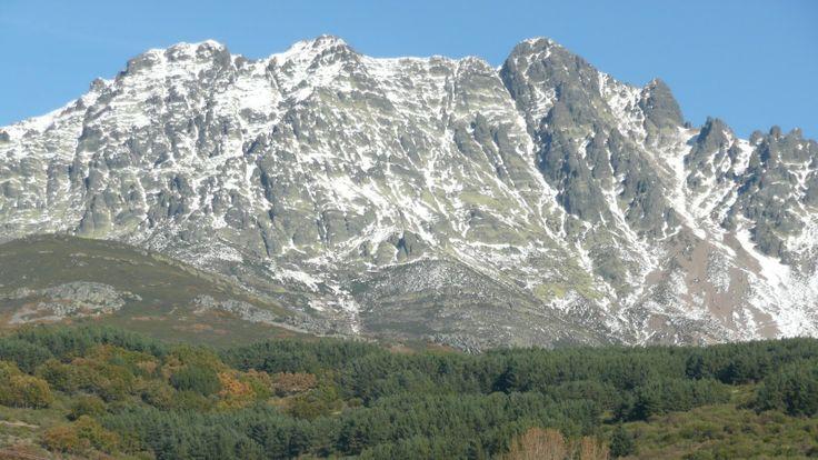 Curavacas gezien vanuit het zuiden, Palencia