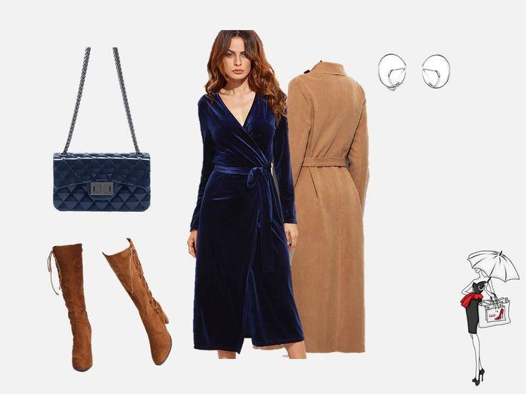 В этом сезоне  дизайнеры предлагают огромный выбор вещей из бархата. Эта волшебная ткань способна очень выгодно подчеркнуть ваши достоинства, одежда из бархата похожа на одежду  настоящих королев. Подберите платье с запахом и поясом. Оно подчеркнет Вашу мягкость и женственность.