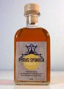 Το Φυτό Με Τη Δαγκάνα » Λικέρ Γκόρτσι - wild pear liqueur